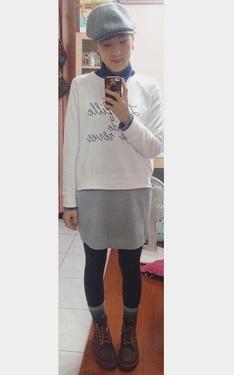 時尚穿搭:毛毛裙