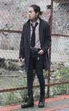 MR.RICCO 落肩大衣的時尚穿搭