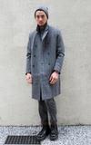 STONE'AS 雙排扣大衣的時尚穿搭