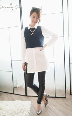 時尚穿搭:視覺長高高之短版背心