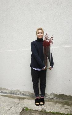 時尚穿搭:買花