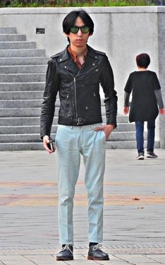 時尚穿搭:LEATHER JACKET