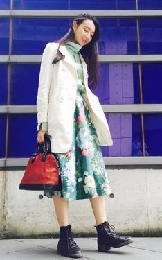 時尚穿搭:穿著冬天想念春天