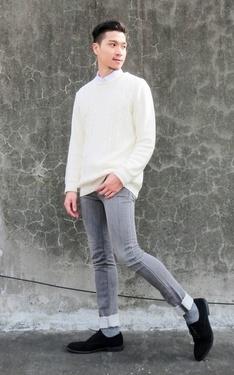 時尚穿搭:20160120 GU Denim Look Jeans Style 1