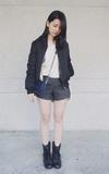TAOBAO 飛行外套的時尚穿搭