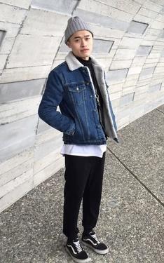 時尚穿搭:School Boy 006
