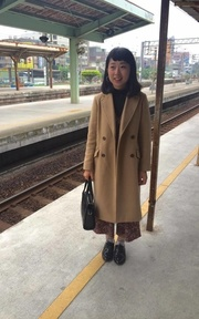 GLOBAL WORK TREND COAT的穿搭