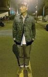 時尚穿搭:丹寧藍+綠鞋