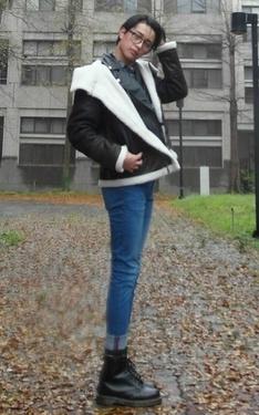 時尚穿搭:大雨的時空裡