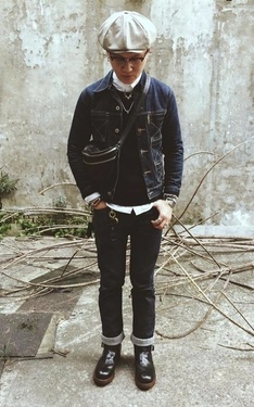 時尚穿搭:The Casual/Denim Look W:Vintage Red Wing PT83!