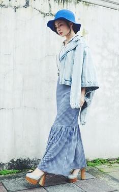 時尚穿搭:麻豆穿露腳踝但我穿___的魚尾裙