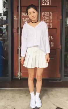 時尚穿搭:white~