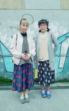 時尚穿搭:好姊妹的搭配
