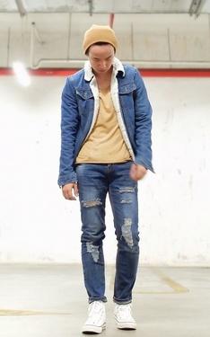 時尚穿搭:Denim On Denim
