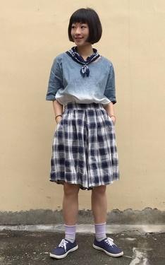 時尚穿搭:藍色不憂鬱