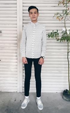 時尚穿搭:花襯衫