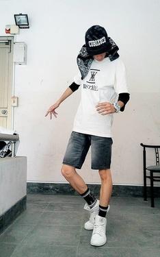 時尚穿搭:滑板少年
