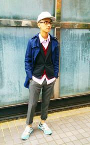 日本購入 長版雙排釦風衣的穿搭