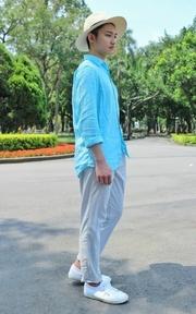 SUPERGA 經典休閒白鞋 的穿搭