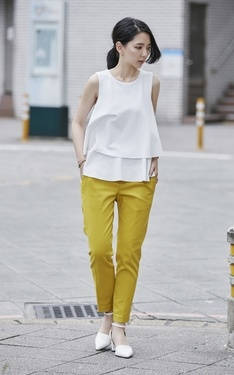 時尚穿搭:YELLOW CHIC