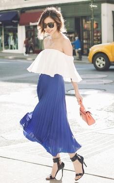 時尚穿搭:Blue royal blue