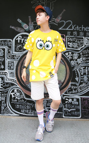 STAYREAL SPONGEBOB T-SHIRT的穿搭