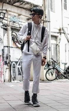 時尚穿搭:驅邪彩大∥微大∥ ♣Bk 2016-05-21的搭配