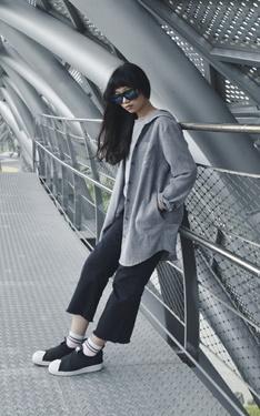 時尚穿搭:灰色X慵懶風