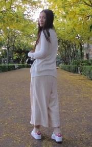STARMIMI 棉麻九分褲裙的時尚穿搭