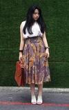 從前從前-ONCE UPON A TIME 皮革古董包的時尚穿搭