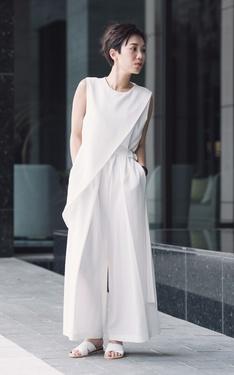 時尚穿搭:這個夏天中了白色的毒