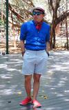 UNIQLO 立領麻料襯衫的時尚穿搭