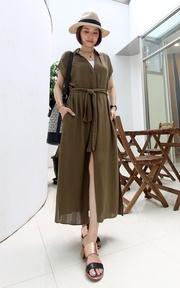ZARA MAXI DRESS的時尚穿搭