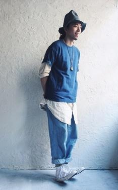 時尚穿搭:白藍的笑