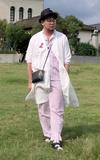 GU 格紋襪的時尚穿搭