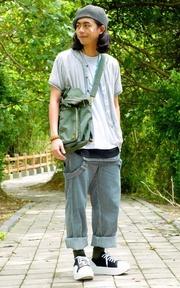 PLAIN-ME 後背包的時尚穿搭