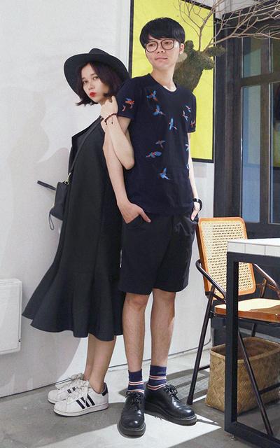 適合街頭混搭、休閒簡約、泰國購入的刺繡上衣的穿搭