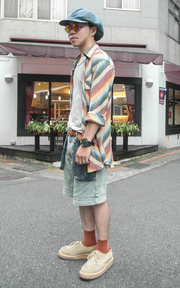 GU 太陽眼鏡的時尚穿搭