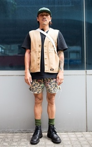 DICKIES 單品的時尚穿搭