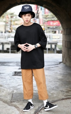 時尚穿搭:2016.08.06 東門城
