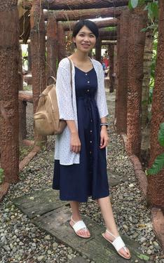 時尚穿搭:長裙X長罩衫