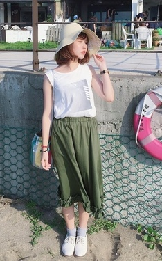 時尚穿搭:好久沒更新來張夏天