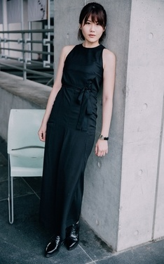 時尚穿搭:ALL BLACK IS MY STYLE