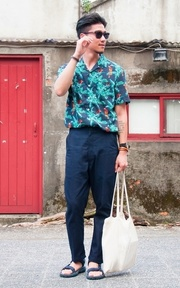 LEVI'S MADE & CRAFTED 牛仔褲的時尚穿搭