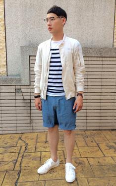 時尚穿搭:棉麻沙色MA1