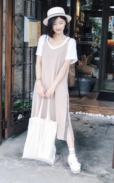 時尚穿搭:一點日系混搭女孩風