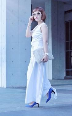時尚穿搭:White style