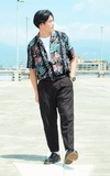 70'S VINTAGE 夏威夷襯衫的時尚穿搭