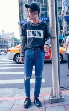 時尚穿搭:London Boy