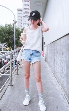 時尚穿搭:白色